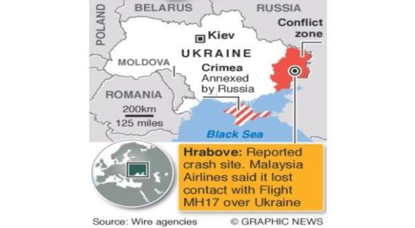 Zona Penerbangan Ukraina Timur Ditutup. (Foto: Wire Agencies)