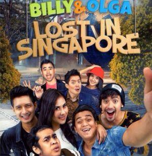 Di Singapura, Olga koma atau syuting film? (Foto: Instagram)
