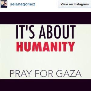 Selena Gomez ajak fans doakan Gaza (Foto: Billboard)