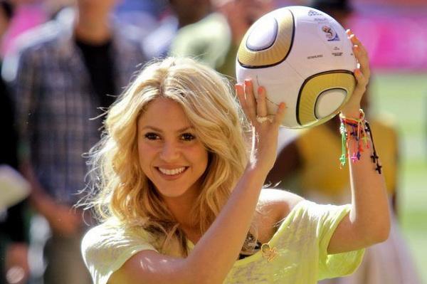 Aksi Shakira di Piala Dunia Raup 100 Juta