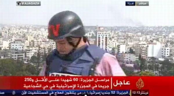 Wartawan Al Jazeera terkejut melihat serangan Israel ke atas Gaza hingga tidak dapat membuat liputan kejadian