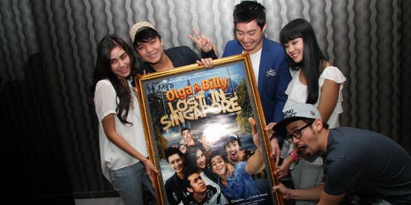 Bintang Lost in Singapore (Foto: Alan/Okezone)