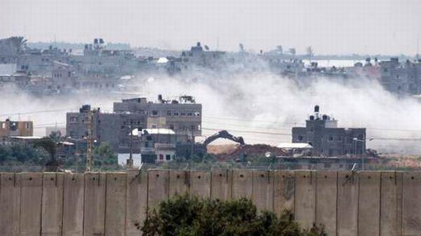 Ricuh di gaza sebabkan masakpai tolak lintasi Israel (Foto:Sky News)