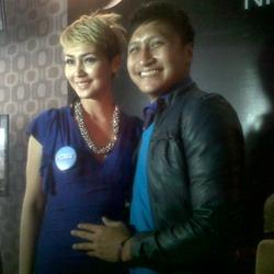 Arie dan Fenita (Foto: Okezone)