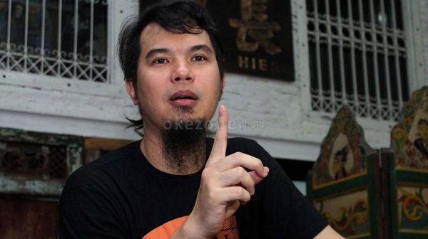 Ahmad Dhani Lebaran di Vila Pribadi? (Foto: Arief)