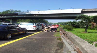 Kemacetan di Puncak Memanjang Sampai Tol Cawang