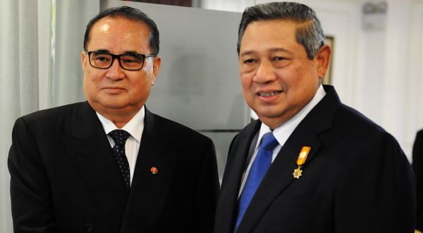 Presiden SBY saat menerima Menlu Korut (Foto: Dok.Setkab)