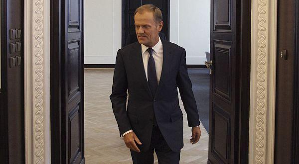 Perdana Menteri Polandia Donald Tusk. (Foto: Reuters)