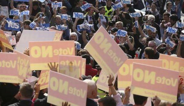Referendum Skolandia Dimulai dengan Perang Janji