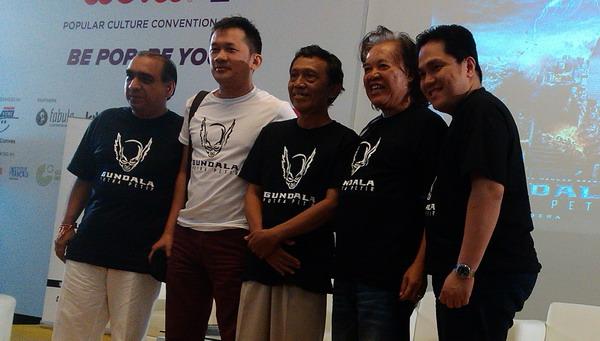 Superhero Indonesia Gundala Tayang 2016