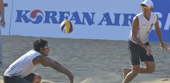 Voli Pantai Indonesia Libas Thailand 2-0