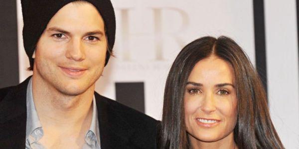 Sudah Move On, Demi Moore Ingin Bantu Ashton Kutcher