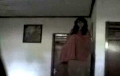 Hantu terekam kamera (dok: RCTI)