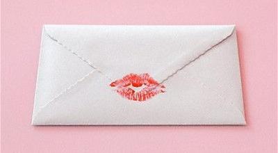 Surat Cinta Bercap Bibir Untuk Valentine Okezone Lifestyle