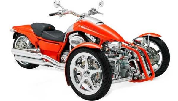 Harley-davidson tunda produksi motor roda tiga