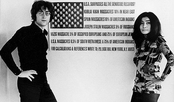 Yoko Ono Nyalakan Api Perdamaian Di Hut John Lennon