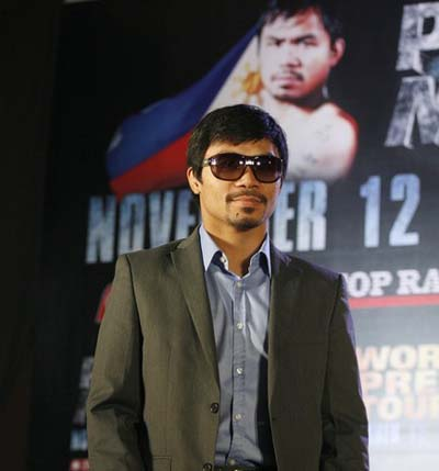 Foto: Manny Pacquiao/Reuters