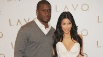 Kim Kardashian & Reggie Bush (Foto: Hello Beautiful)