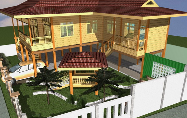Rumah Panggung Solusi Hadapi Banjir Okezone Economy