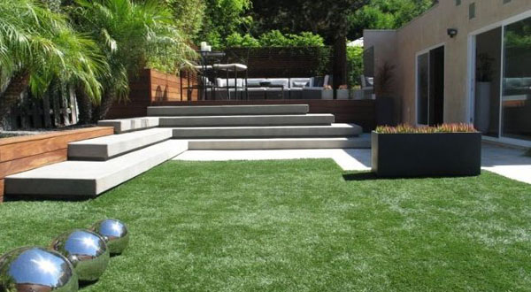 Art stainless steel ball placement modern contemporary garden design