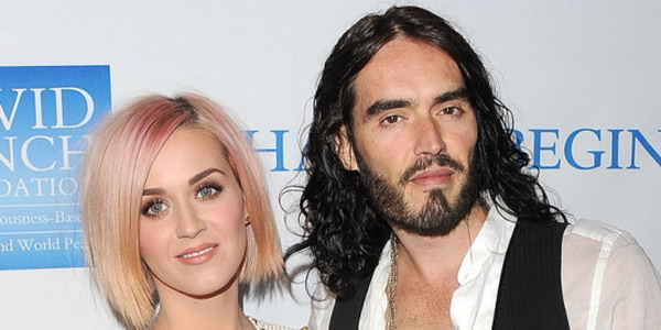 Katy Perry dan Russel Brand (Foto: gettyimages)