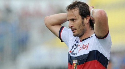 Striker Genoa Alberto Gilardino (foto: Getty Images)