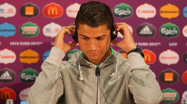 Cristiano Ronaldo belum mampu meneruskan performa hebatnya di Real Madrid ke tim nasional Portugal/Getty Images