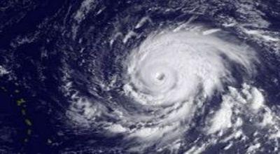 Ilustrasi badai (Foto: AFP)