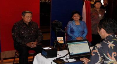 Presiden Susilo Bambang Yudhoyono dan Ani Yudhoyono