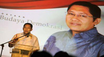 Ketua Umum Partai Demokrat Anas Urbaningrum