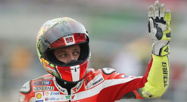 Valentino Rossi. (Foto: Daylife)