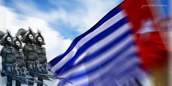 Bendera Bintang Kejora (Foto: Agung/okezone)