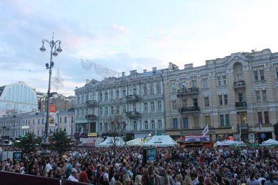 Suasana di Kiev. (Foto: Fitra Iskandar/Okezone)