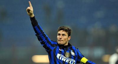 Kapten Inter Milan Javier Zanetti mengakui timnya memulai ekspresi dominan depan bukan sebagai tim f Terkini Inter Bukan Tim Favorit Raih Scudetto