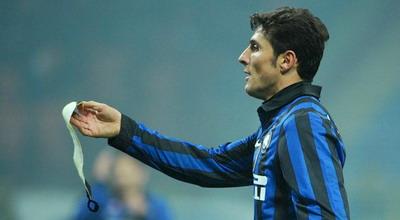 kapten Inter Milan Javier Zanetti di Giuseppe  Meazza Terkini Harapan Zanetti Menuju 18 Musim di Inter