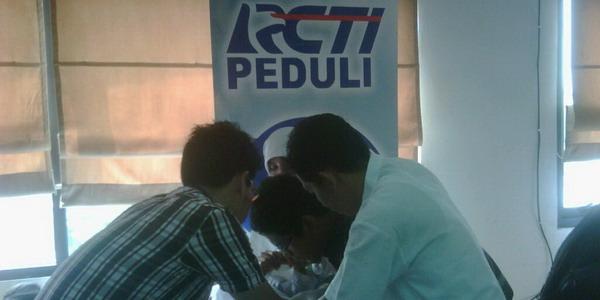 Khitanan massal MNC Peduli (Foto: Awaludin/Okezone)