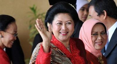 Ibu Negara Ani Yudhoyono (Foto: Dok Okezone)