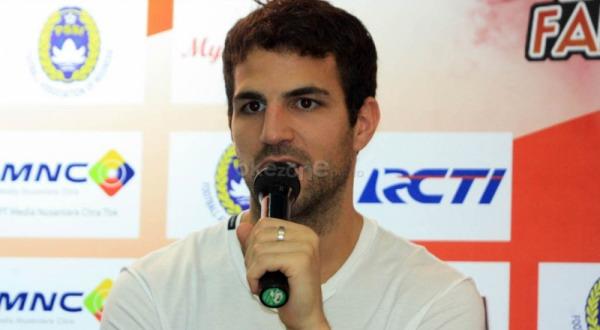 Cesc Fabregas (Foto: OKezone)