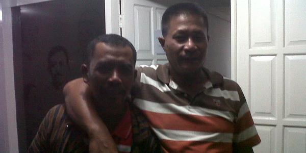Hari Suswandi (kiri) (dok okezone)