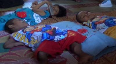 Tiga saudara kandung di Pariaman lumpuh (Dok: Sindo TV/Eka Guspriadi)