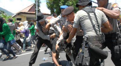Ilustrasi, bentrok mahasiswa di Ternate