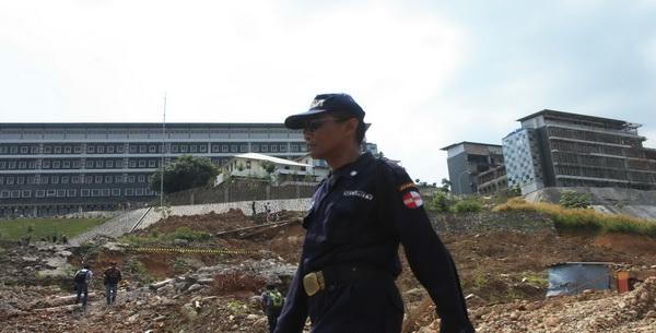 Proyek Hambalang (Foto: Heru/Okezone)