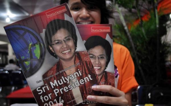Buku Sri Mulyani for Presiden (dok okezone)