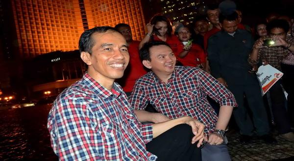 Jokowi-Ahok (foto: dok Okezone)
