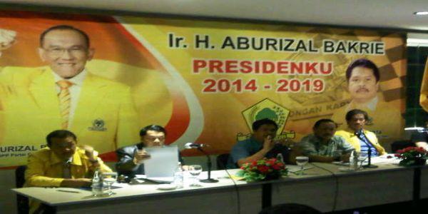 Pertemuan ketua DPD Partai Golkar di Bali (foto: Rohmat)