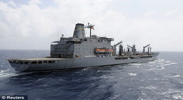 USNS Rappahannock (Foto: Reuters)