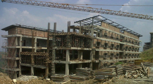 Proyek Pembangunan Sport Center Hambalang (Foto: Susi F/okezone)