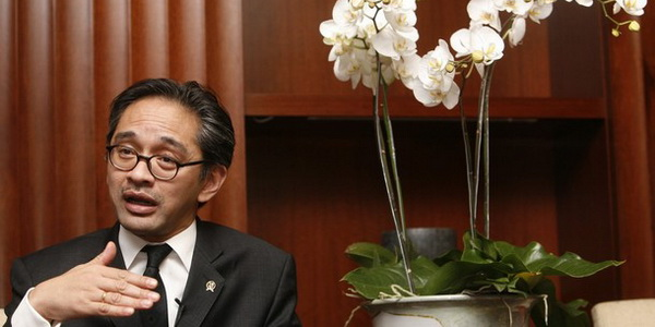 Marty Natalegawa (Foto: Reuters)