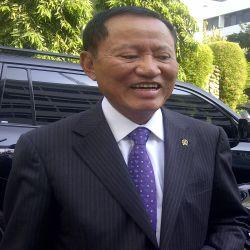 Menkum HAM Amir Syamsuddin (Foto: Putra Mandar/ Okezone)