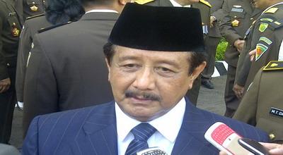 Jaksa Agung Basrief Arief (Foto: Putra Mandar/ Okezone)